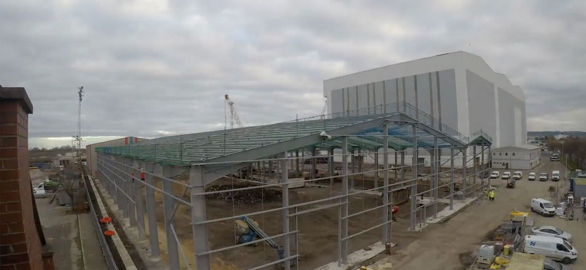 Weekly Construction Timelapse - w/e Nov 27th